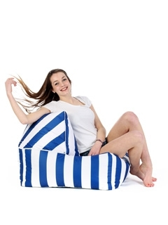 Edition limitée - Pouf Sit On It Change Me Stripes
