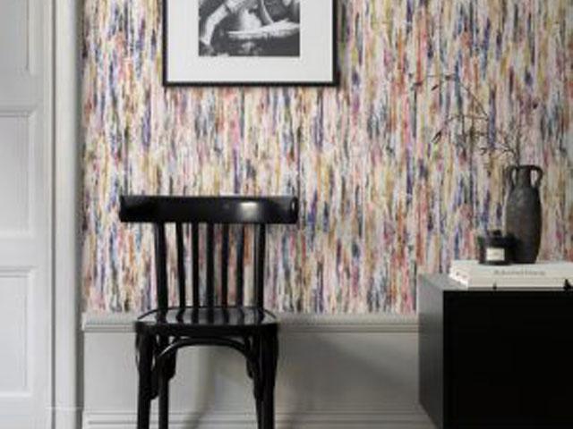 Les papiers peints à motifs de Sandberg sont disponibles chez Déco ...